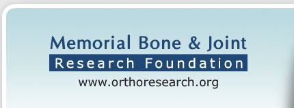 Memorial Bone & Joint Research Foundation